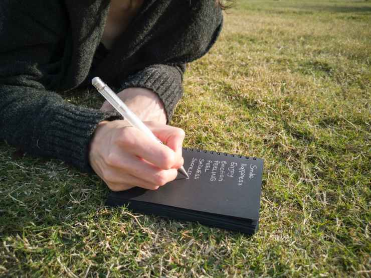 create an outline of your book