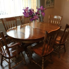 Unfinished Wooden Chairs Canada Leather Dining With Arms Uk Solid Maple Table And Powerhouse Clearance