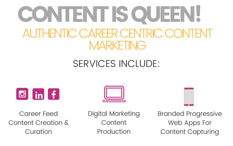 image of employer branding content marketing services