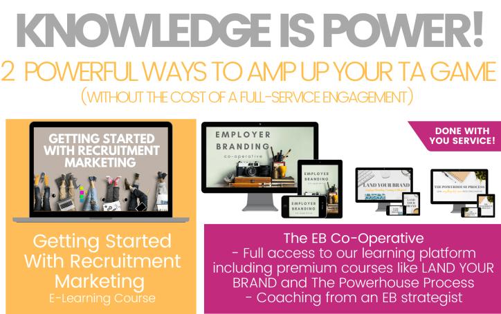 Recruitment Marketing course