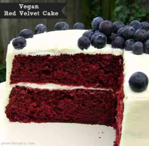 Vegan Cake Recipes, Red Velvet Cake