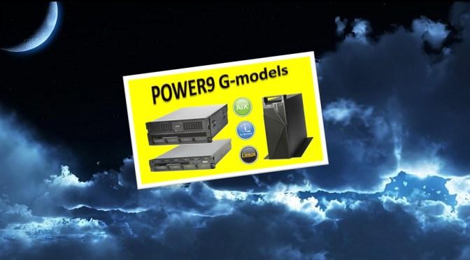 Annonce des nouveaux serveurs POWER9 Scale-Out (G-models)