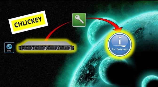 Nouvelle fonction de saisie des clés de licence IBM i depuis la HMC