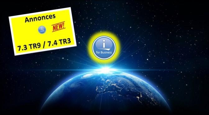 Annonces 7.4 TR3 / 7.3 TR9