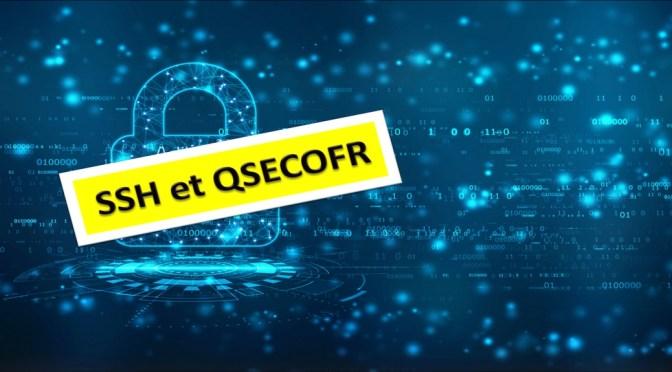 Autoriser le service SSH pour le profil QSECOFR