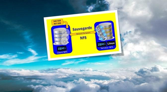 Sauvegarder et restaurer une partition IBM i depuis un serveur NFS