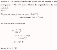 Coulomb S Law Problems Worksheet Answers ...