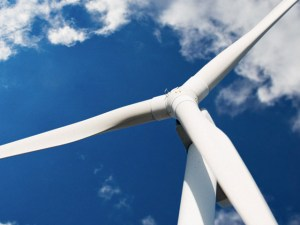 Wind turbines are a green energy source