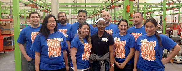 Champion Energy Community Volunteers Houston Food Bank