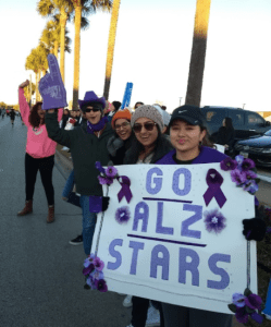 Calpine and ALZ volunteers 2018
