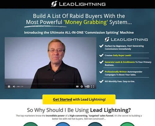 Lead Lightning Sign up Get Yours Today and Signup