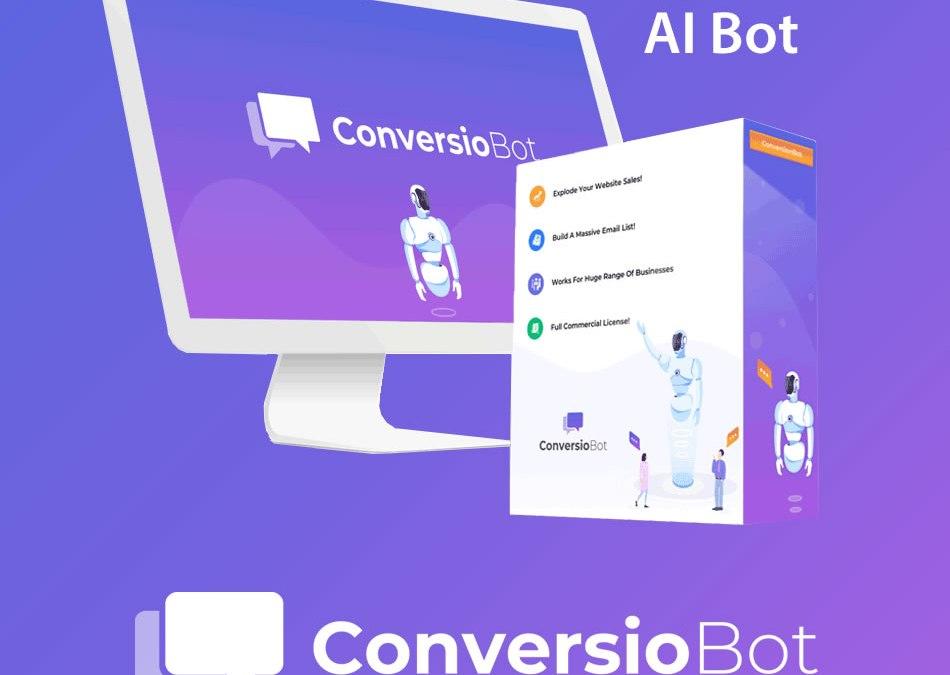 ConversioBot announces THREE major developments (Coupon Codes also) AI Chatbot