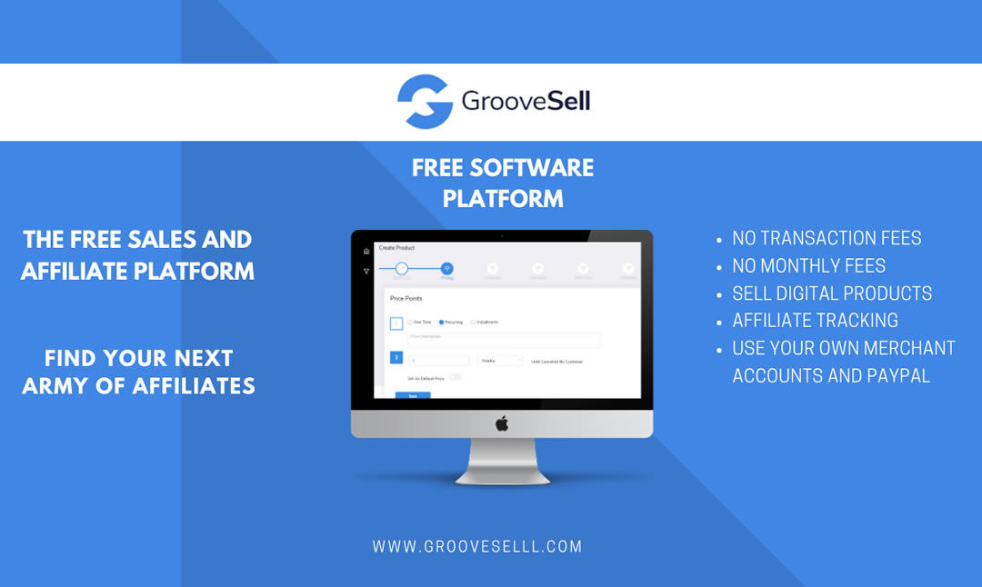 Press Release GrooveSell Free for Life
