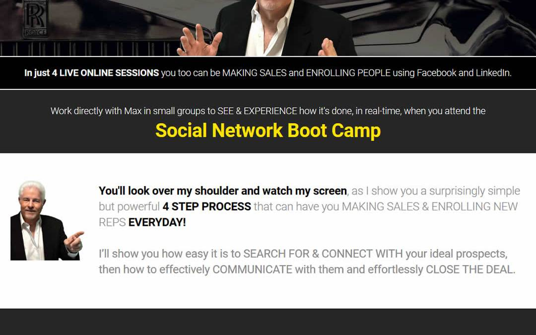 Special Coupon / Promo Code for Max Steingart's Boot Camp