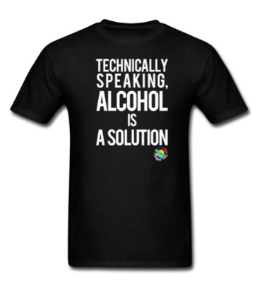 Alcohol t shirt copy