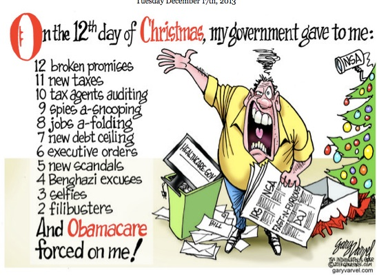 12 Days of Obamacare copy