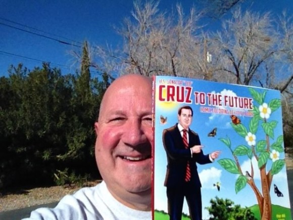 The Ted Cruz coloring book.  Now where're my jammies and cup of hot chocolate.