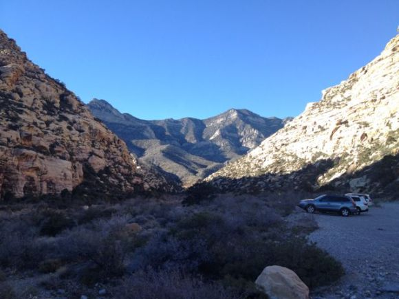 Willow Creek in Red Rock Canyon