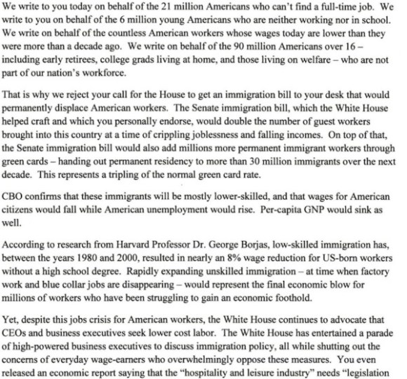 Letter to Obama p. 1