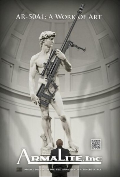 If Michelangelo had belonged to the NRA. . .