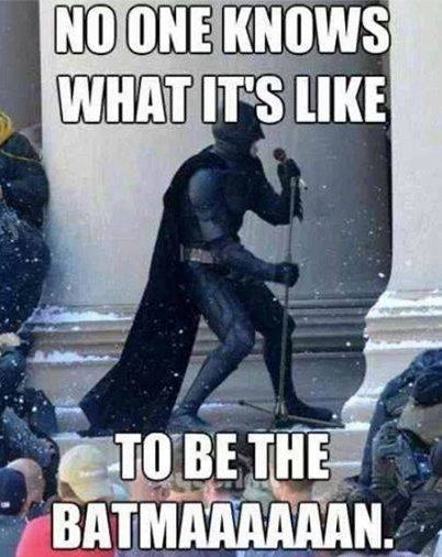 Be the Batman copy