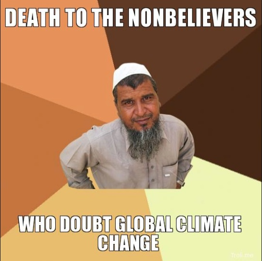 Death to Climate Doubters copy