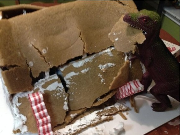 Gingerbread Dinosaur copy