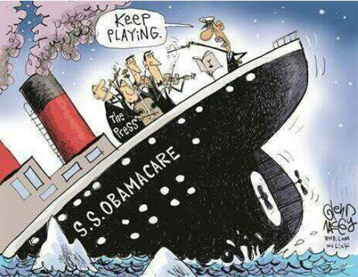 Sinking Obamacare Ship copy
