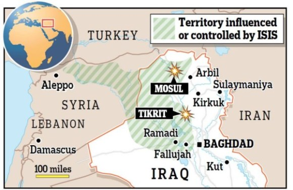 territory iraq graphic blast in tikrit