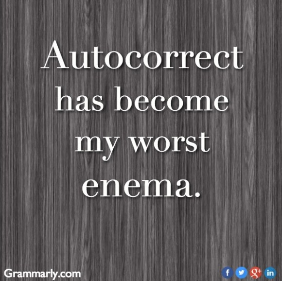 Autocorrect Enema copy
