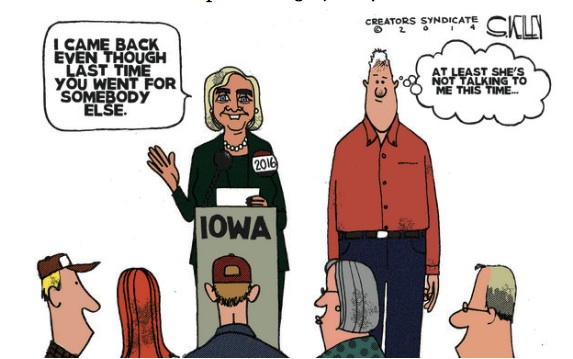 Clintons in Iowa copy