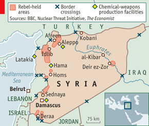 kobani-syria-map