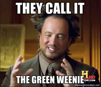 Green Weenie poster copy