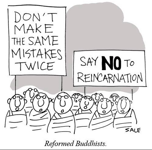 No Reincarnation copy