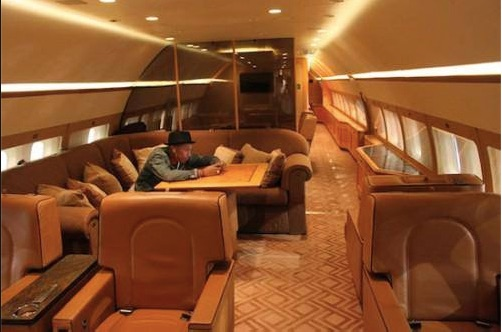 Pharrel Williams Private Plane copy