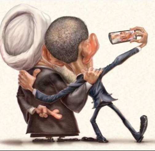 Iran Obama selfie copy