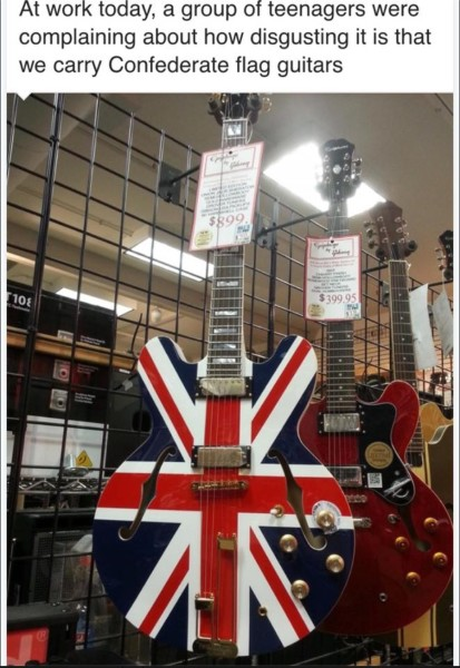 ConFed Flag Guitar copy
