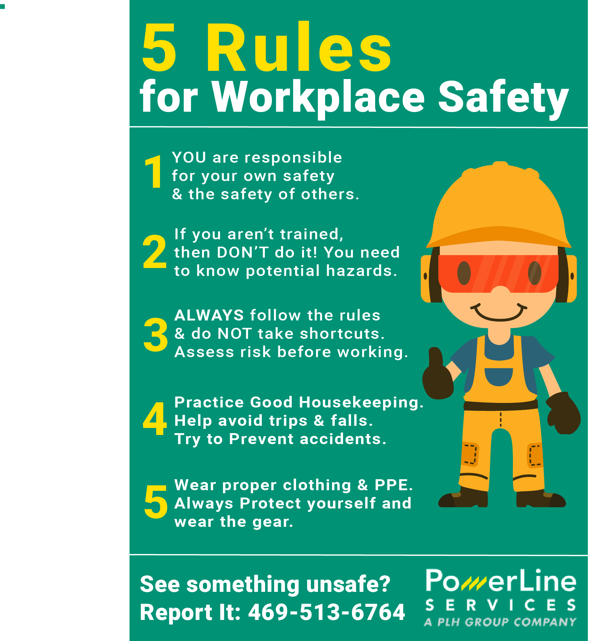 5 Rules Of Safety