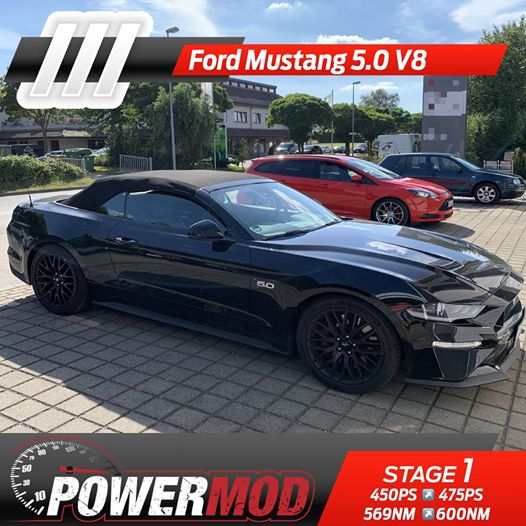 Chiptuning ford mustang coyote 5.0
