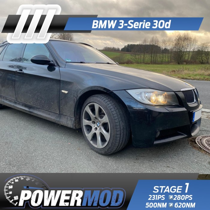 bmw 330d 330xd chiptuning