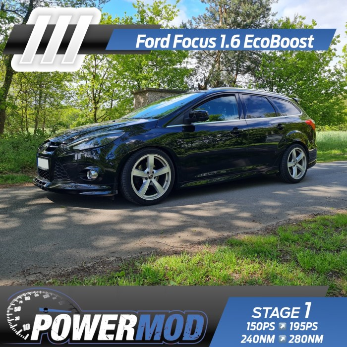 ford focus chiptuning 1.6 ecoboost