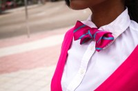 Pretty in Pink Bow Tie