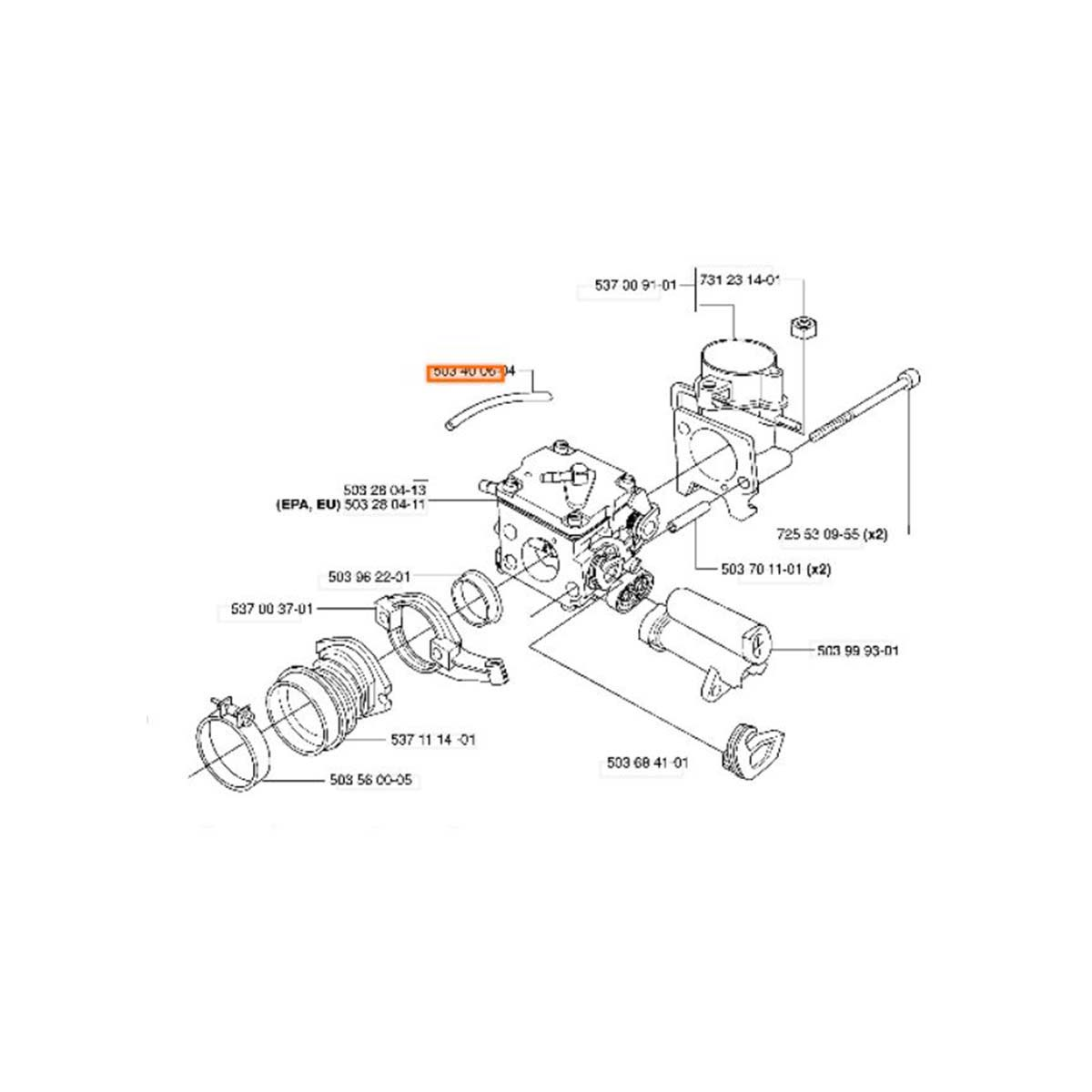 Husqvarna 503400604 for sale at Power Mower Sales