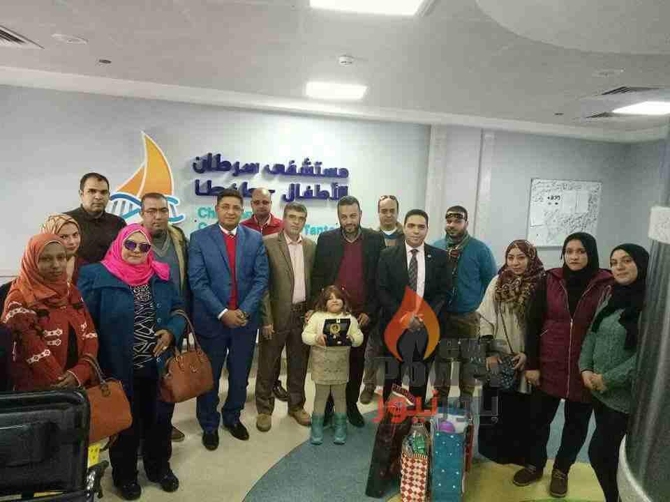 بالصور..وفد من القاهرة لتكرير البترول يزور مستشفى 57357 فرع طنطا