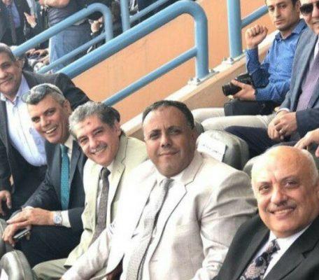 عبد الكريم والعطار وبيضون في مؤتمر تأييد الرئيس اليوم