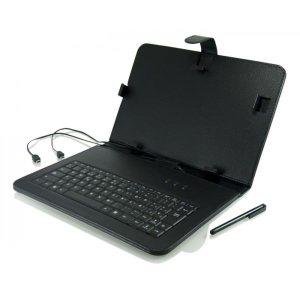 FUNDA TABLET 3GO 9.7″ CON TECLADO USB NEGRA