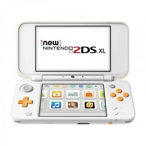 CONSOLA NINTENDO NEW 2DS XL BLANCO Y NARANJA