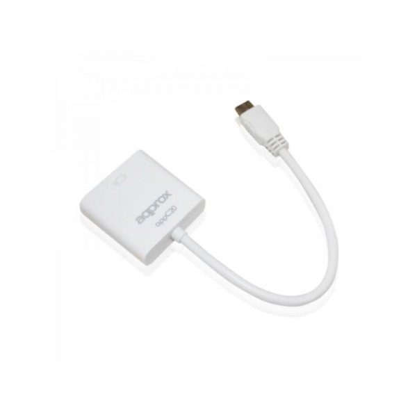 ADAPTADOR APPROX MINI HDMI A VGA APPC20