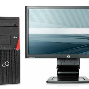 "KIT Ordenador Fujitsu P720 Torre + TFT 20"" Ocasion"
