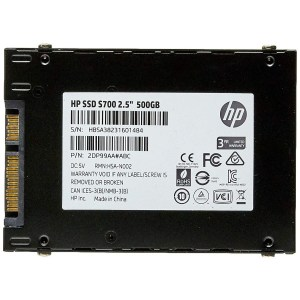 DISCO DURO SSD 2.5″ HP S700 500GB SATA 3